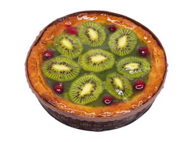 Фруктово-ягодный песочный пирог