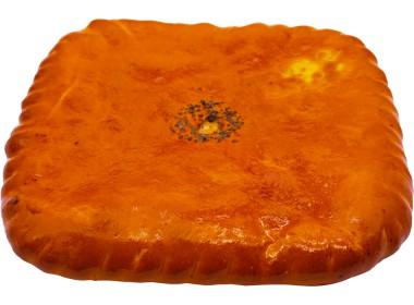 Пирог с рыбой (форель)